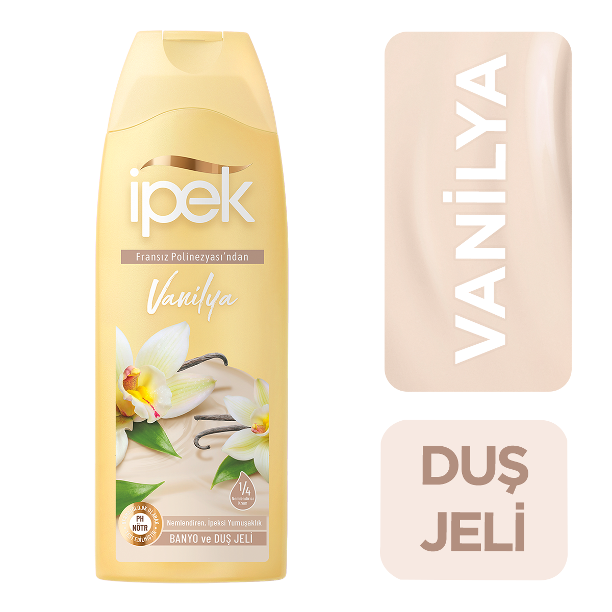 Vanilya Banyo ve Duş Jeli