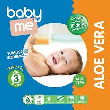Baby Me Aloe Vera Bebek Bezi