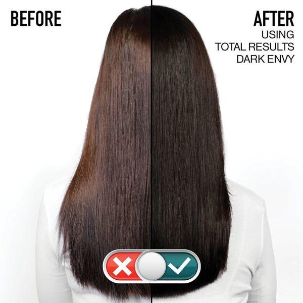 Dark Envy Siyah, Koyu Kestane ve Kahverengi Saçlar için Renk Koruyucu Bakım Kremi