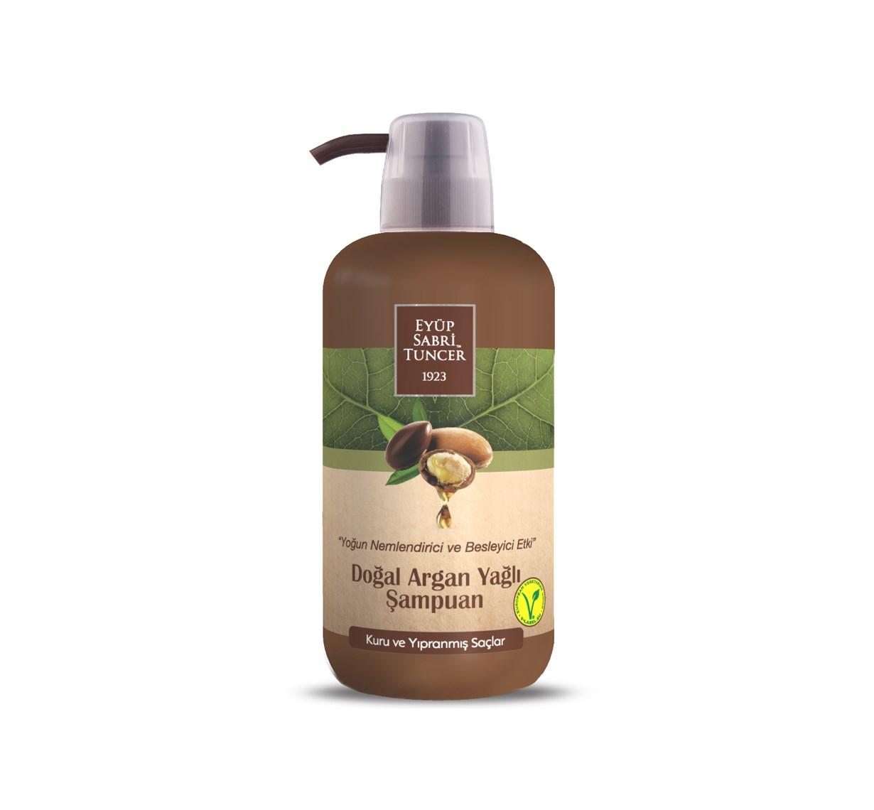 Doğal Argan Yağlı Şampuan