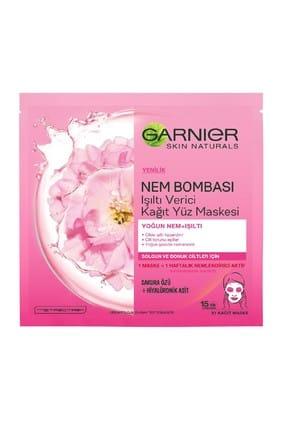 Nem Bombası Işıltı Verici Kağıt Yüz Maskesi