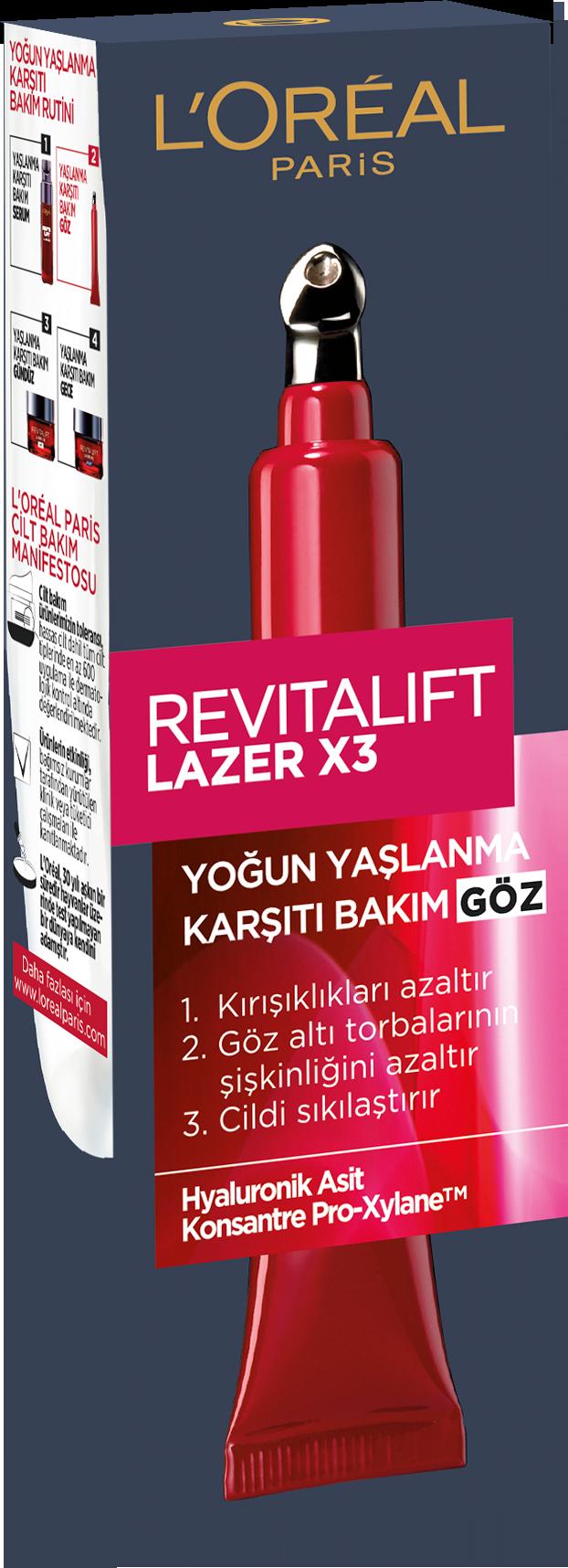 Revitalift Lazer X3 Kırışık Karşıtı Göz Bakım Kremi