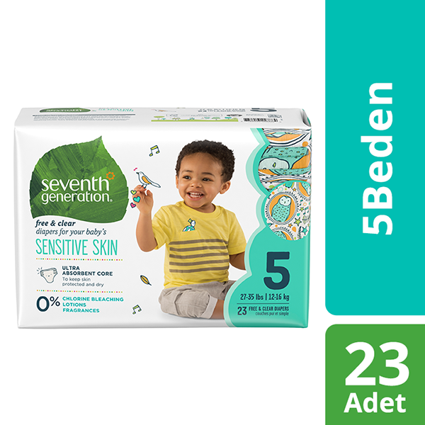 Seventh Generation Bebek Bezi