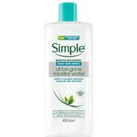 Daily Skin Detox Yağlı Ciltler için Micellar Makyaj Temizleme Suyu