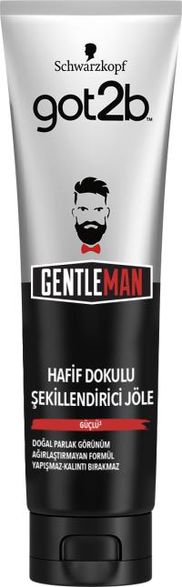 Gentleman HAFİF DOKULU ŞEKİLLENDİRİCİ JÖLE