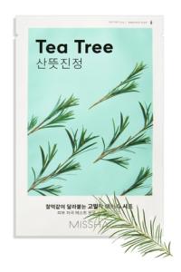 Hassas Ciltler için Çay Ağacı Özü İçeren Yaprak Maske - Airy Fit Sheet Mask Tea Tree