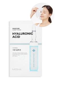 Hyalüronik Asit İçeren Nemlendirici Yaprak Maske - Mascure Hydra Solution Sheet Mask