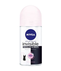 Invisible Black & White Clear Kadın Roll-on