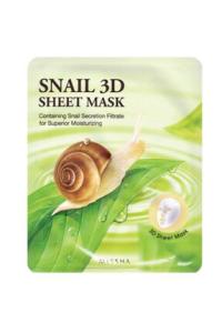 Salyangoz Salgısı Özlü 3D Yaprak Maske - Healing Snail 3D Sheet Mask