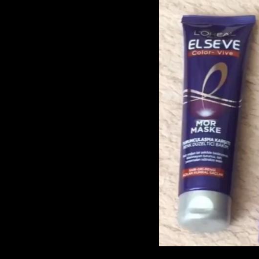 Saç Bakım Ürünleri-Elseve-Color Vive Turunculaşma Karşıtı Renk Düzeltici Mor Maske-12dlr-yorum-Puan-5puantiye