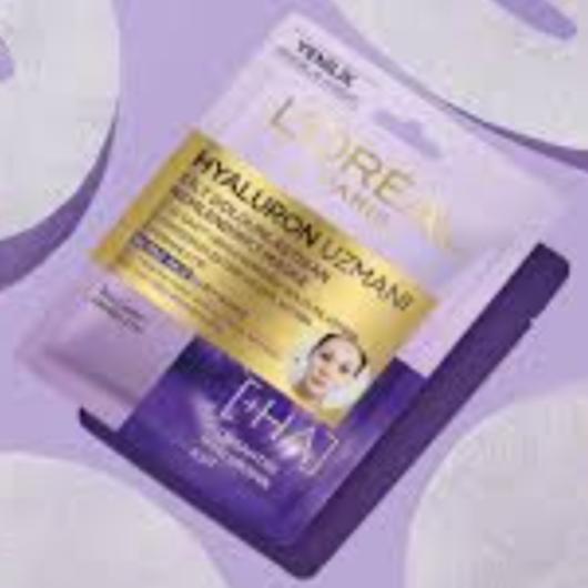 Maske-L'Oréal Paris-Hyaluron Uzmanı Kağıt Yüz Maskesi-1641sibel-yorum-Puan-5puantiye