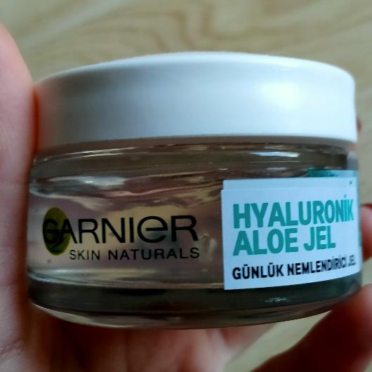 Günlük Krem-Garnier Skin Naturals-Hyaluronik Aloe Günlük Nemlendirici Jel-1oje1ruj-yorum-Puan-5puantiye