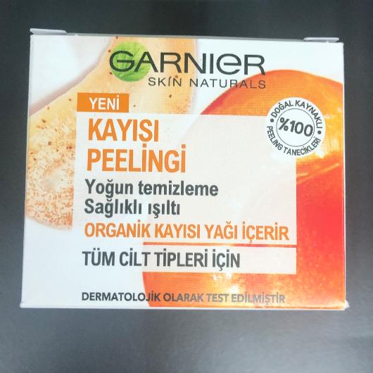 Peeling-Garnier Skin Naturals-Kayısı Peelingi-5puantiyemblog-yorum-Puan-5puantiye