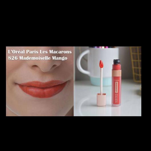 Ruj-L'Oréal Paris Makyaj-Les Macarons Likit Mat Ruj-9denebu9-yorum-Puan-5puantiye