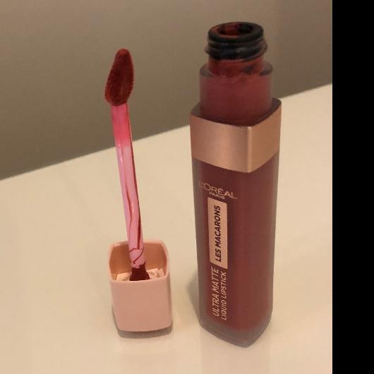 Ruj-L'Oréal Paris Makyaj-Les Macarons Likit Mat Ruj-antoinette-yorum-Puan-5puantiye