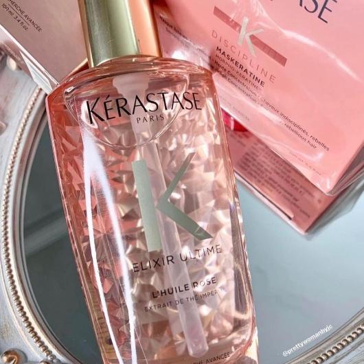 Saç Bakım Ürünleri-Kérastase-Elixir Ultime L'Huile Rose Parlaklık Yağı-asiguzel16-yorum-Puan-5puantiye