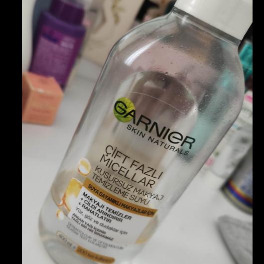 Makyaj Temizleyici-Garnier Skin Naturals-Garnier Çift Fazlı Micellar Kusursuz Makyaj Temizleme Suyu-asiguzel16-yorum-Puan-5puantiye