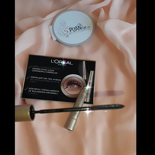 Maskara-L'Oréal Paris Makyaj-Telescopic Maskara-birsen__unlu-yorum-Puan-5puantiye