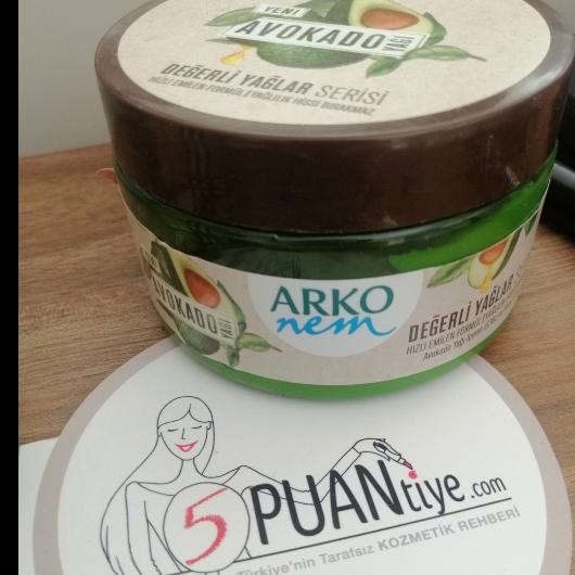 El Bakımı-ARKO NEM-Değerli Yağlar Avokado Yağı Nemlendirici El Kremi-btlknk11-yorum-Puan-5puantiye