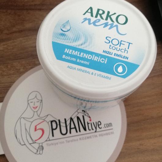 El Bakımı-ARKO NEM-Soft Touch El ve Vücut Kremi-btlknk11-yorum-Puan-5puantiye