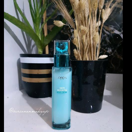 Günlük Krem-L'Oréal Paris-Nem Terapisi Aloe Vera Suyu Normalden Karmaya Ciltler-burcununmakyaji-yorum-Puan-5puantiye