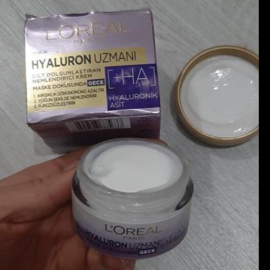 Gündüz Kremi-L'Oréal Paris-Hyaluron Uzmanı Cilt Dolgunlaştıran Nemlendirici Krem GKF 20-ceydabstnn-yorum-Puan-5puantiye