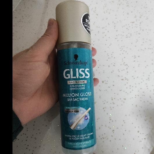 Saç Kremi-Gliss-Million Gloss Sıvı Saç Kremi-denebulur_dunyasi-yorum-Puan-5puantiye