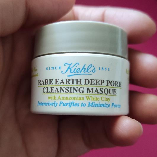 Maske-Kiehl's-Rare Earth Deep Pore Cleansing Masque-denebulur_dunyasi-yorum-Puan-5puantiye