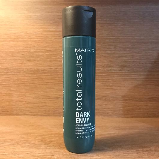 Şampuan-MATRIX TOTAL RESULTS-Dark Envy Siyah, Koyu Kestane ve Kahverengi Saçlar İçin Renk Koruyucu Yeşil Şampuan-denebunusans-yorum-Puan-5puantiye