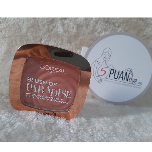 Allık-L'Oréal Paris Makyaj-BLUSH OF PARADISE ALLIK-deneyelimmi_blogggg-yorum-Puan-5puantiye