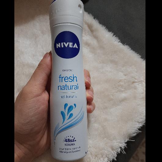 Deodorant-NIVEA-Fresh Natural Kadın Deodorant Sprey-deneyelimmi_blogggg-yorum-Puan-5puantiye