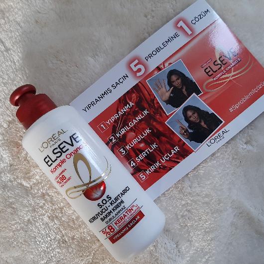 Saç Bakım Ürünleri-Elseve-Komple Onarıcı 5 S.O.S Koruyucu Kurtarıcı Bakım Kremi-deneyelimmi_blogggg-yorum-Puan-5puantiye