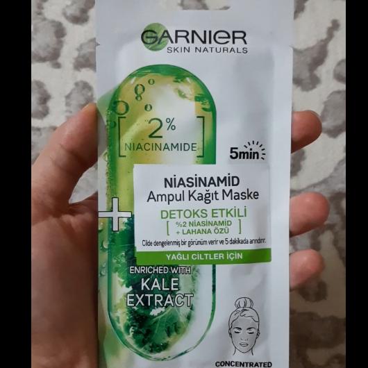 Maske-Garnier Skin Naturals-Niasinamid Detoks Etkili Ampul Kağıt Yüz Maskesi-deneyelimmi_blogggg-yorum-Puan-5puantiye