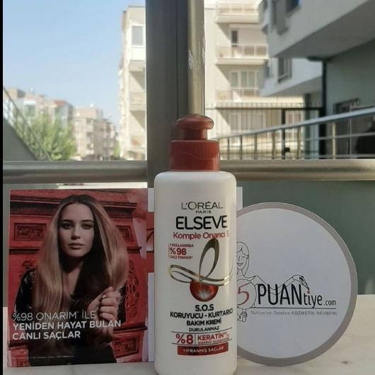 Saç Bakım Ürünleri-Elseve-Komple Onarıcı 5 S.O.S Koruyucu Kurtarıcı Bakım Kremi-deneyenblogs-yorum-Puan-5puantiye