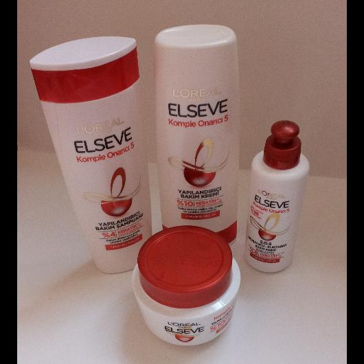 Saç Bakım Ürünleri-Elseve-Komple Onarıcı 5 S.O.S Koruyucu Kurtarıcı Bakım Kremi-deniz_d-yorum-Puan-5puantiye