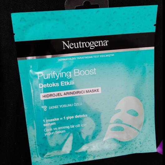 Maske-Neutrogena-Purifying Boost Detoks Etkili Hidrojel Arındırıcı Maske-ecrn56-yorum-Puan-5puantiye