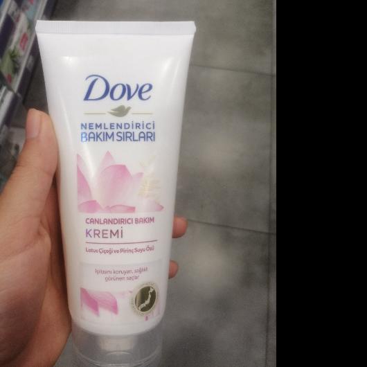 Saç Kremi-Dove-Canlandırıcı Bakım Lotus Çiçeği ve Pirinç Suyu Özü Süper Saç Bakım Kremi-emne02-yorum-Puan-5puantiye