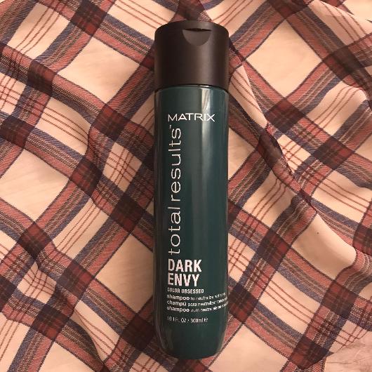Şampuan-MATRIX TOTAL RESULTS-Dark Envy Siyah, Koyu Kestane ve Kahverengi Saçlar İçin Renk Koruyucu Yeşil Şampuan-glr2000-yorum-Puan-5puantiye