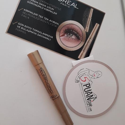 Maskara-L'Oréal Paris Makyaj-Telescopic Maskara-hayalimmm-yorum-Puan-5puantiye