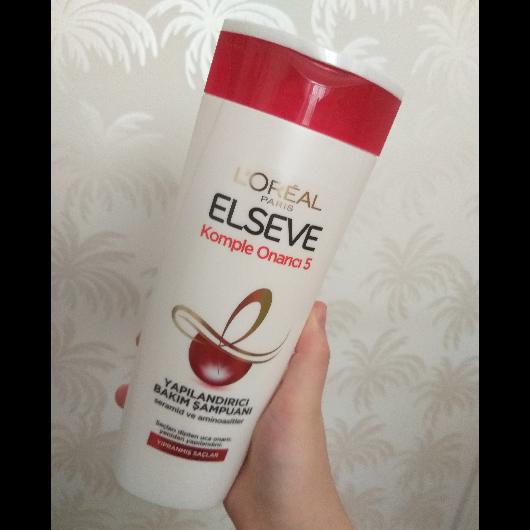 Şampuan-Elseve-Komple Onarıcı 5 Yapılandırıcı Bakım Şampuanı-hilal4406-yorum-Puan-5puantiye
