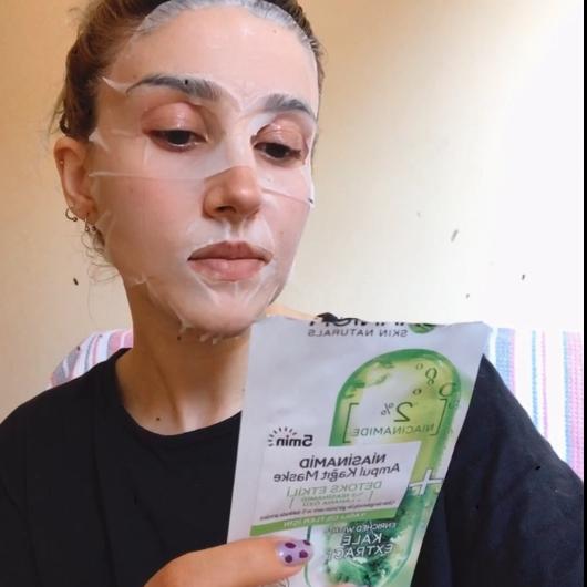 Maske-Garnier Skin Naturals-Niasinamid Detoks Etkili Ampul Kağıt Yüz Maskesi-hulyabaloglu-yorum-Puan-5puantiye