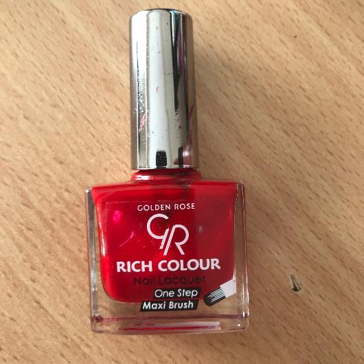 Tırnak Ürünleri-Golden Rose-Rich Color Nail Lacquer-kardelencicegi2020-yorum-Puan-5puantiye