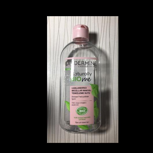 Makyaj Temizleyici-Diadermine-Naturally BIOme Canlandırıcı Micellar Makyaj Temizleme Suyu-baharyamansenol-yorum-Puan-5puantiye