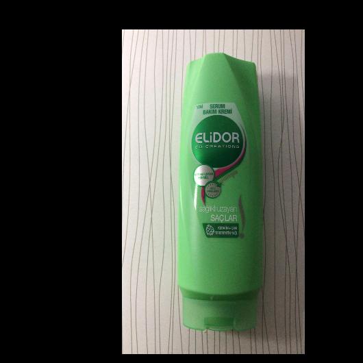 Saç Kremi-Elidor-Sağlıklı Uzayan Saçlar Serum Bakım Kremi-baharyamansenol-yorum-Puan-5puantiye