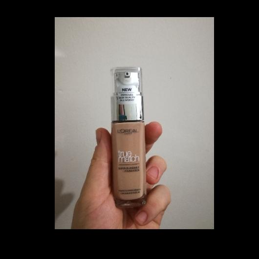 Fondöten-L'Oréal Paris Makyaj-True Match Bakım Yapan Fondöten-baharyamansenol-yorum-Puan-5puantiye