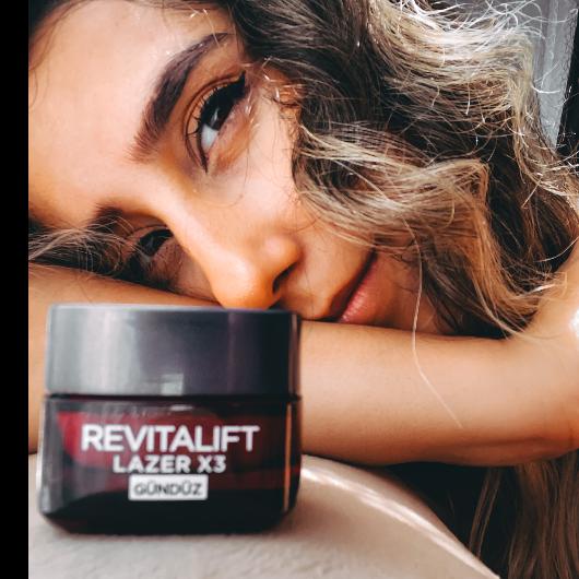 Gündüz Kremi-L'Oréal Paris-Revitalift Lazer X3 Yoğun Yaşlanma Karşıtı Gündüz Bakım Kremi-meltem17-yorum-Puan-5puantiye