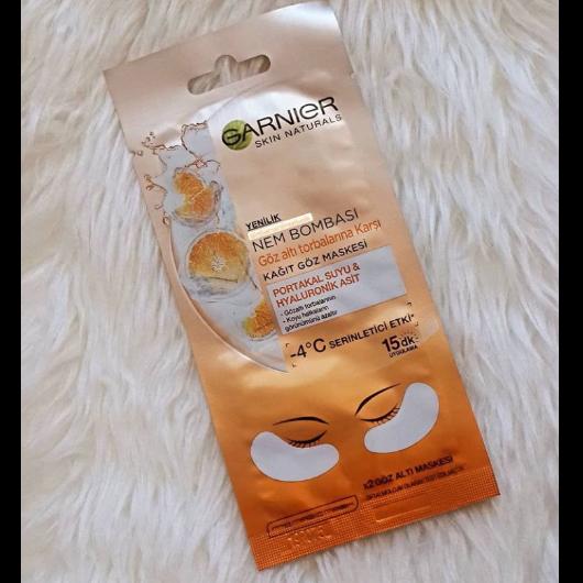 Göz Çevresi Bakımı-Garnier Skin Naturals-Nem Bombası Göz Altı Torbalarına Karşı Kağıt Göz Maskesi-deneyenblog9-yorum-Puan-5puantiye
