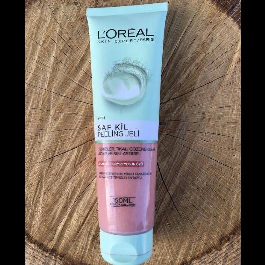 Peeling-L'Oréal Paris-Saf Kil Peeling Jeli-deneyenblog9-yorum-Puan-5puantiye