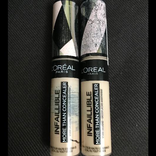 Kapatıcı/Aydınlatıcı/Kontür-L'Oréal Paris Makyaj-Infaillible Tüm Yüze Uygulanabilir Kapatıcı-nazlin-yorum-Puan-5puantiye