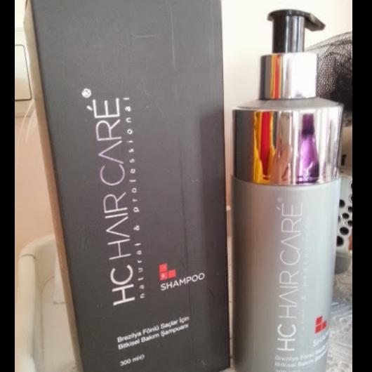 Şampuan-HC CARE-Brezilya Fönlü Saçlar İçin-nuray12onur-yorum-Puan-5puantiye
